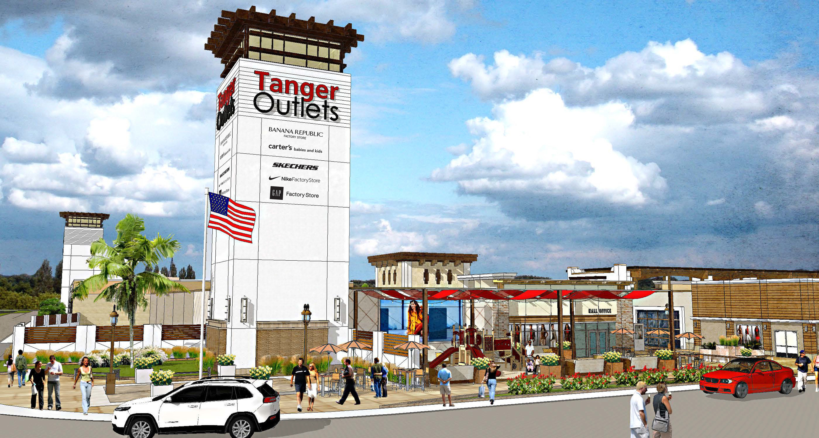 Onwijs Outlet Giant Revs up Progress on New Tanger Outlets Fort Worth WA-07