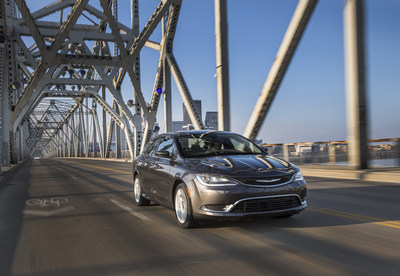 Chrysler 200 named IIHS Top Safety Pick+ for 2016.