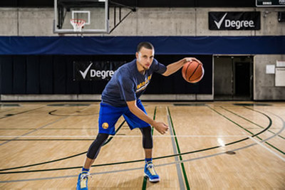Stephen Curry & Degree Men(R) Set to Kick Off 48 Hours of Game-Changing NCAA(R) March Madness(R)