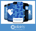 CELLAIRIS PARTNERS WITH AUTISM SPEAKS TO LAUNCH A LINE OF CASES AS PART OF THE BRAND'S LIVE TO GIVE(TM) COLLECTION.  (PRNewsFoto/Cellairis)