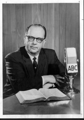 Dr. C.M. Ward (photo courtesy Flower Pentecostal Heritage Center) (PRNewsFoto/Trinity Broadcasting Network)