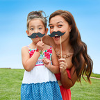 Sears Celebrates Dad's Day with Search for Best 'Stache in America. Members get $5 in points (5,000 points) for Father's Day shopping by entering the contest at sears.com/DestinationDad (PRNewsFoto/Sears, Roebuck and Co.)