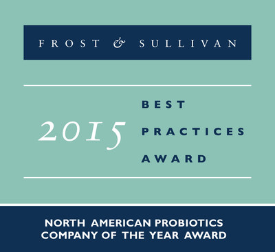 Frost & Sullivan recognizes Nutraceutix with the 2015 North American Company of the Year Award.