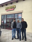 Owner/Operators Rafael Armenta, Jr., Rafael Armenta, Sr. and Martin Lopez open Dickey's Barbecue Pit in Riverbank on Thursday