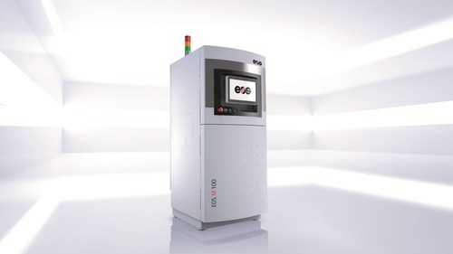 Entry into additive manufacturing: EOS M 100 system for direct metal laser sintering (Source: EOS) ...