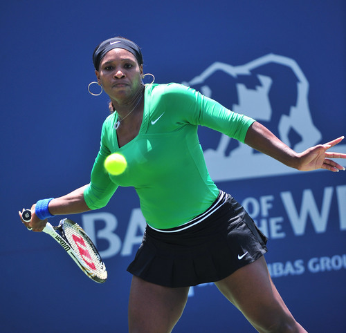 Serena Williams will defend her title at the Bank of the West Classic taking place in Stanford, California July 2012.  (PRNewsFoto/Bank of the West)