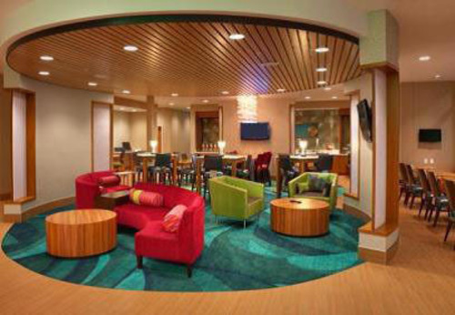 The new look and feel of the SpringHill Suites.  (PRNewsFoto/Sage Hospitality)