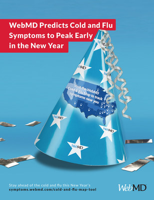 WebMD Predicts Cold and Flu Symptoms to Peak Early in the New Year