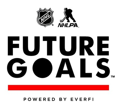 The *NHL & NHLPA Future Goals(TM) Program is *a major North American initiative that will bring interactive education opportunities to each of the 30 NHL team markets in the United States and Canada. (PRNewsFoto/EverFi, Inc.)