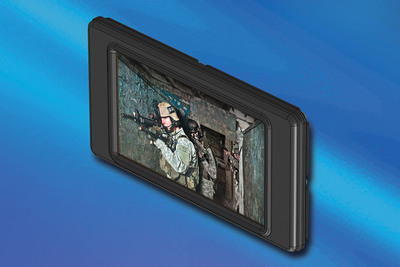 New 3D Handheld Display from IEE Integrates 3M's Autostereoscopic Technology.  (PRNewsFoto/IEE, Inc.)
