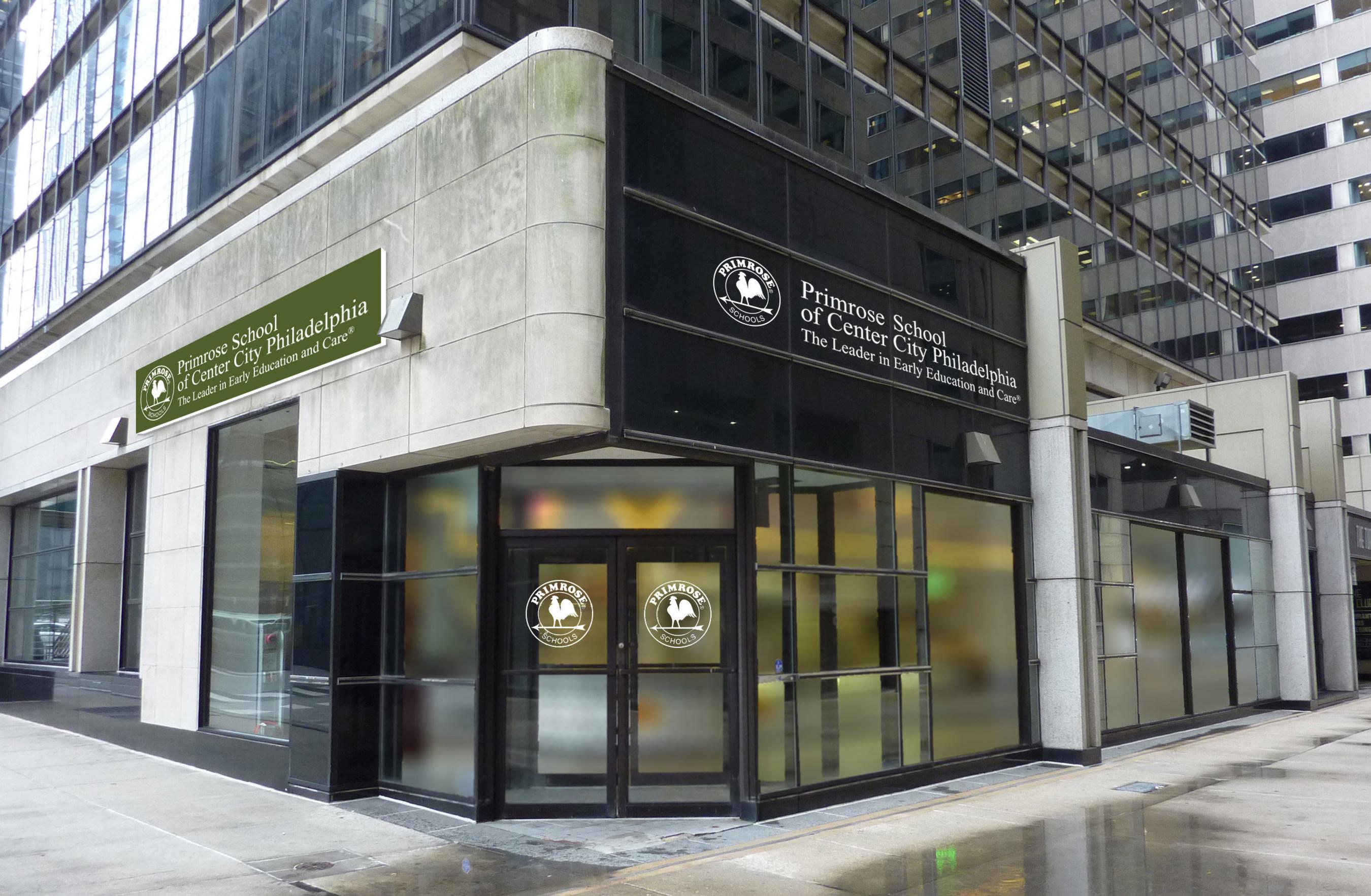 Composite image of the new Primrose School of Center City Philadelphia