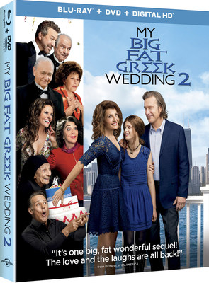 From Universal Pictures Home Entertainment: My Big Fat Greek Wedding 2