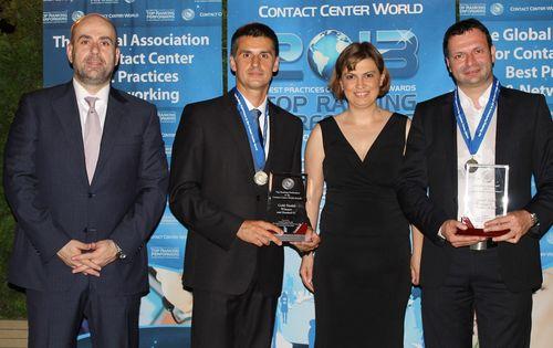 Turkcell Global Bilgi atteint à nouveau la première marche du podium