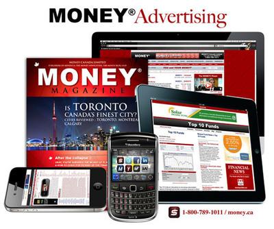 MONEY - Canadian Money.  (PRNewsFoto/Money Canada Limited)