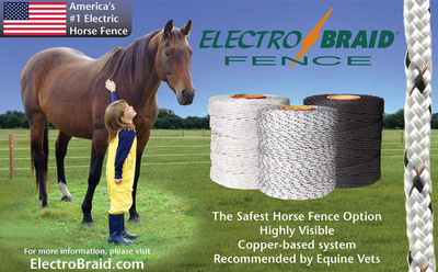 ElectroBraid Fence Now Available Exclusively Through Woodstream's Distribution Network