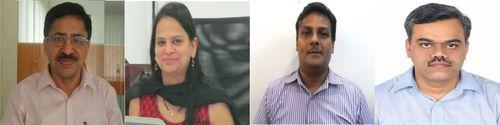 From L to R – Satish Belani, Jyoti Katke, Manish Shah and Sankalp Shrie. (PRNewsFoto/Majestic MRSS)