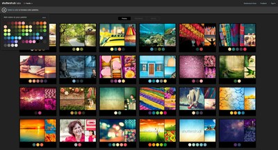 Shutterstock Introduces Innovative Color Search Tool 'Palette' (PRNewsFoto/Shutterstock, Inc.)