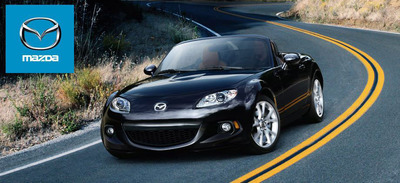 The new 2014 Mazda MX-5 Miata available now at Ocean Honda of Miami.  (PRNewsFoto/Ocean Mazda)