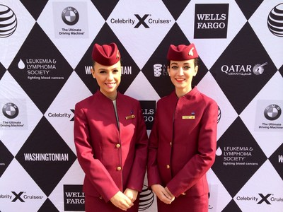 Qatar Airways Sponsors  Washingtonian Magazine's 2014 'Best Of Washington' for the 2nd consecutive year. (PRNewsFoto/Qatar Airways)