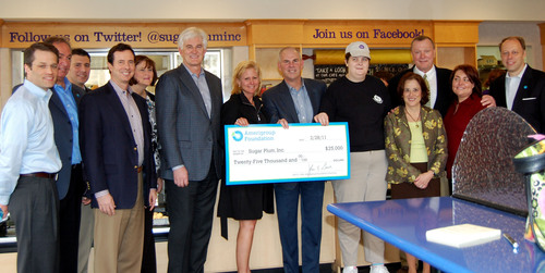 Amerigroup Foundation Gift Funds Accessible Entrance for Sugar Plum Bakery
