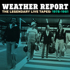 Weather Report: The Legendary Live Tapes: 1978-1981 will be available on Friday, November 20, 2015.