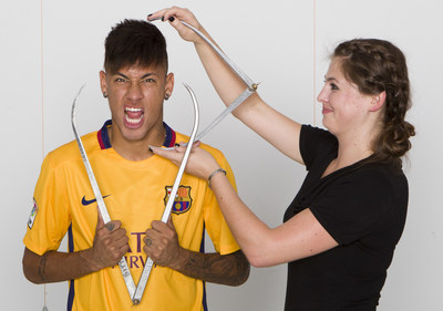 In celebration of Neymar's upcoming 24th birthday, Madame Tussauds Orlando has announced the world-famous Brazilian footballer will receive a new wax figure. Neymar will unveil the figure this spring in Barcelona and his wax double will travel to its permanent home in Orlando. Image courtesy of Madame Tussauds.