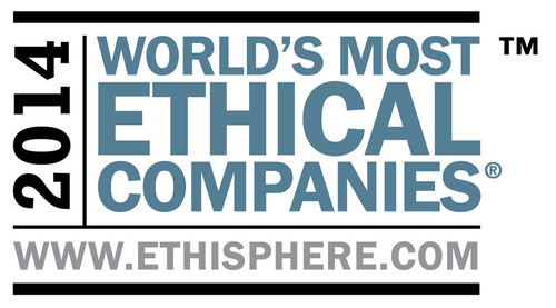 NiSource Named a World's Most Ethical Company Three Years in a Row.  (PRNewsFoto/NiSource Inc.)