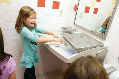 According to a national Healthy Hand Washing Survey conducted by Bradley Corporation, 70% of parents plan to talk to their children about the importance of hand washing before sending them back to school.