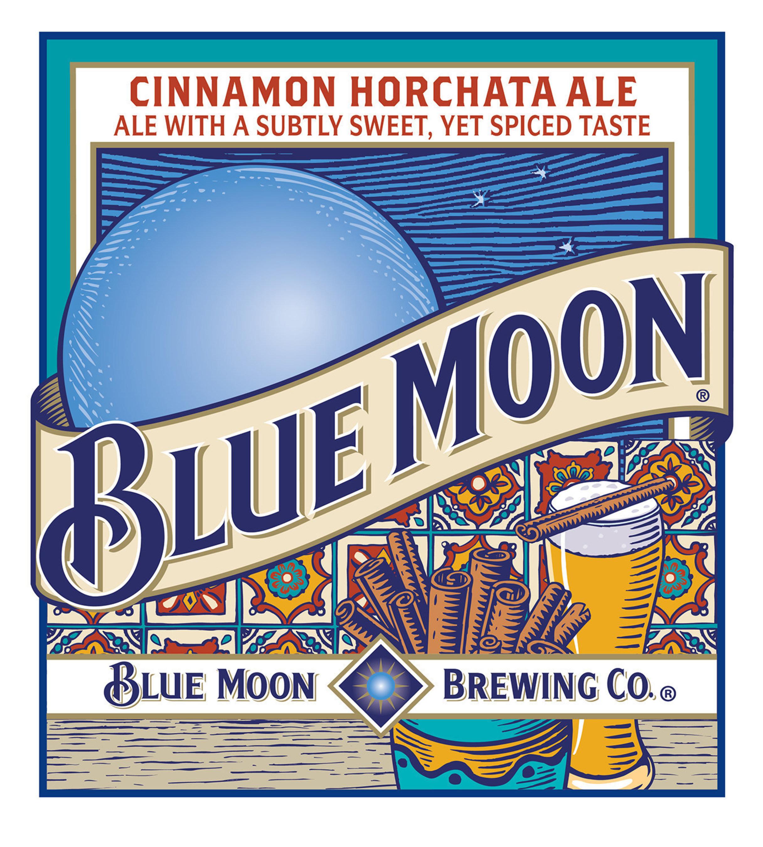 Blue Moon Cinnamon Horchata Ale Label (PRNewsFoto/Blue Moon Brewing Company)