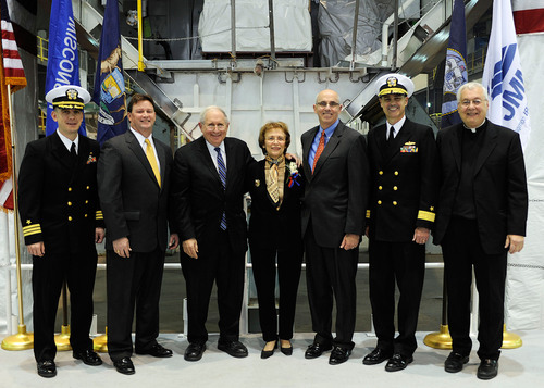 Nation's Seventh Littoral Combat Ship Takes Shape as Lockheed Martin Team Lays The Keel