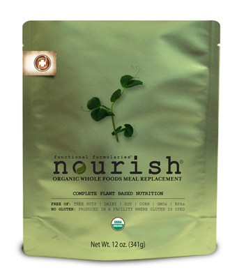 Nourish, Functional Formularies' newest product, provides organic, whole-food feeding tube nutrition for children.