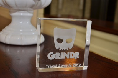 Grindr Unveils Winners for Inaugural Grindr Gay Travel Awards.  (PRNewsFoto/Grindr)