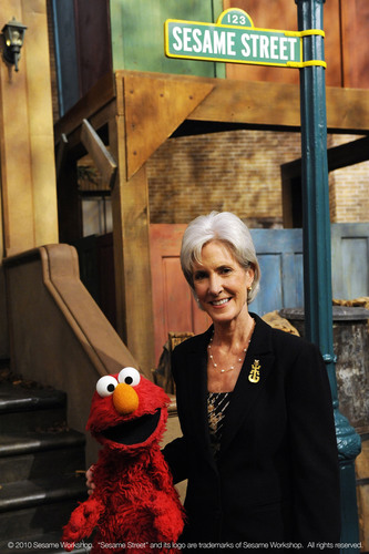 HHS Secretary Kathleen Sebelius, Sesame Street and the Ad Council Launch National PSA to Protect