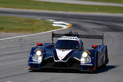 The Mike Shank Honda led a 1-2 finish for the manufacturer at the season-ending Petit Le Mans Race at Road Atlanta, securing the North American Endurance Championship for Honda.