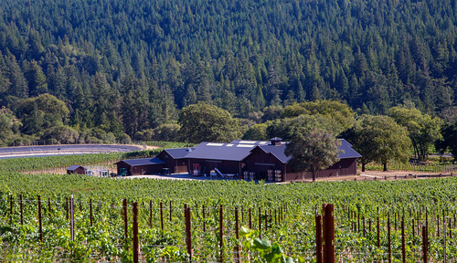 Domaine Anderson Winery to Open in the Anderson Valley, CA.  New Project by Champagne Louis Roederer to Premiere at Famed Anderson Valley Pinot Noir Festival. (PRNewsFoto/Domaine Anderson)