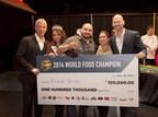 Ricardo Heredia named 2014 World Food Champion, wins $100,000!