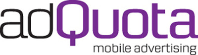 adQuota Logo.  (PRNewsFoto/adQuota)