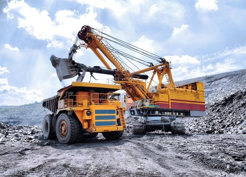 Raex wear-resistant steels prevent the wear and damage of structural parts and decrease repair costs for mining, heavy earth moving and construction machinery. (PRNewsFoto/Ruukki)