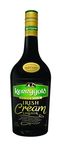 Kerrygold Irish Cream Liqueur offers the finest blend of natural Irish cream, aged Irish whiskey and luxurious chocolate. (PRNewsFoto/Imperial Brands, Inc.)