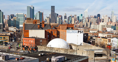 Volkswagen Sponsors New Geodesic Dome at MoMA PS1.  (PRNewsFoto/Volkswagen of America)