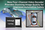 Highly integrated TW9984 raises the bar on 360-degree surround image quality in advanced driver assistance systems