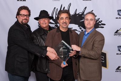 "Joe Mantegna star of Outdoor Channel's ""MidwayUSA's Gun Stories"" and winner of Best Educational Golden Moose Award. (PRNewsFoto/Outdoor Channel)"