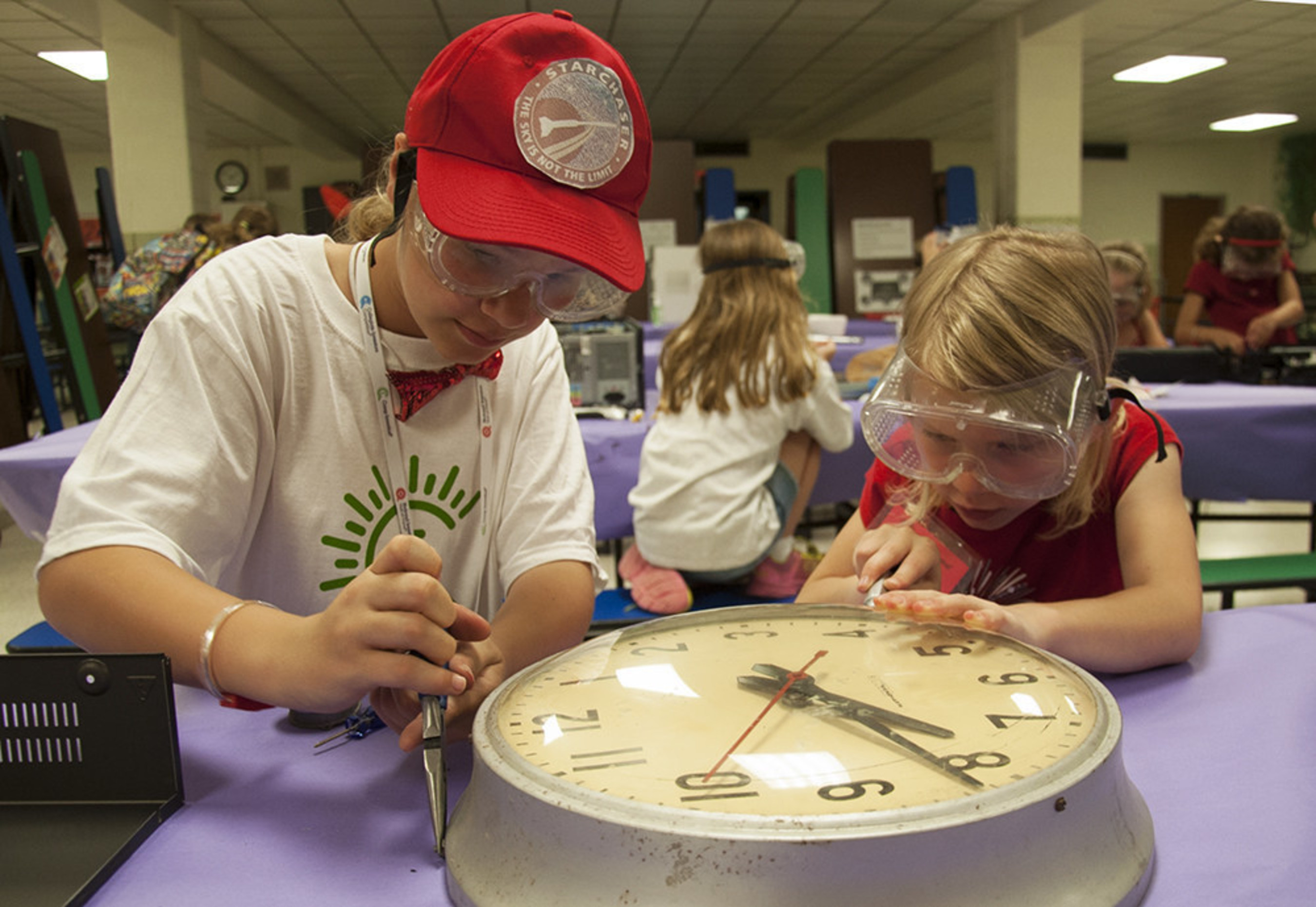 Students think, make and create at Camp Invention.