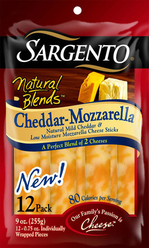 Sargento Natural Blends Cheeses Combine Two Flavors for One Delicious Taste