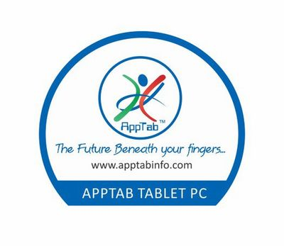 AppTab Logo With Tablet PC