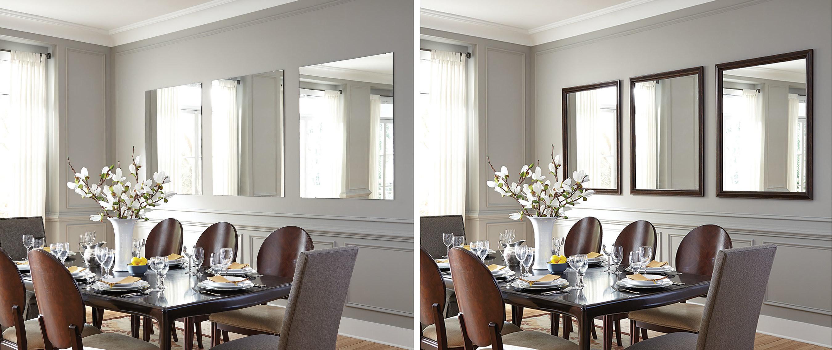 mirrormate frames introduces readyframe. Black Bedroom Furniture Sets. Home Design Ideas