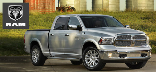 Auto shoppers in the Kenosha, Wis., area can lease a Ram truck at Palmen Motors. (PRNewsFoto/Palmen Motors)
