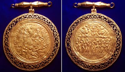 Of Great Historical, Artistic and Religious Importance - a Unique Byzantine Gold Medallion to be Auctioned by Roma Numismatics Ltd of Mayfair, London