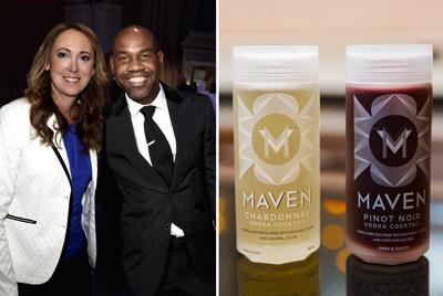 Maven Cocktails founder & CEO Stephenie Harris and Unik Ernest
