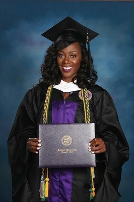 Tiffany Barthelmy is Ashford University's Outstanding Alum of the Month.